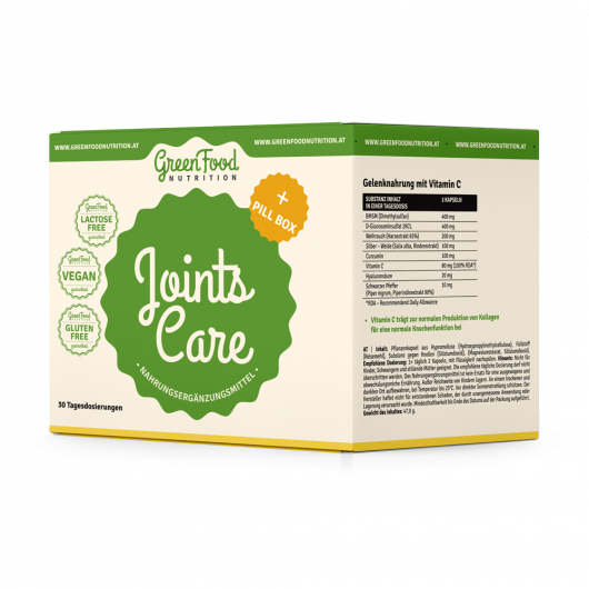 GreenFood Nutrition Joints Care + Pillbox